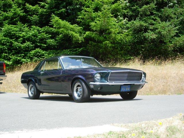 Wow, nice classic car!