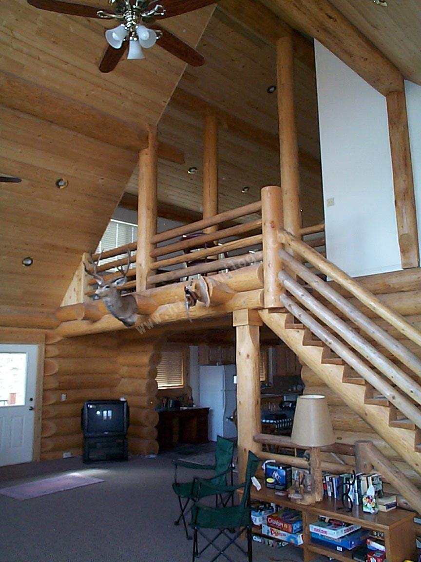 Highland Custom Log Home Builders Custom Log Home