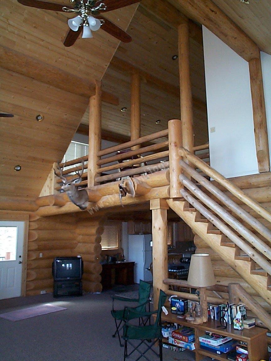 Highland custom log home builders custom log home for Custom log home plans