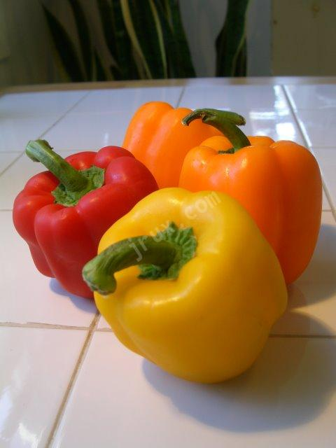Peppers have much Vitamin C